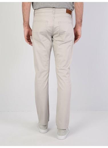 Colin's Straight Fit Orta Bel Düz Paça Erkek Pantolon Gri